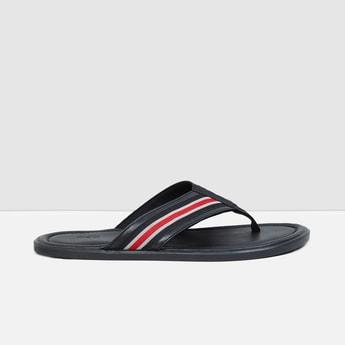 MAX Striped V-strap Sandals