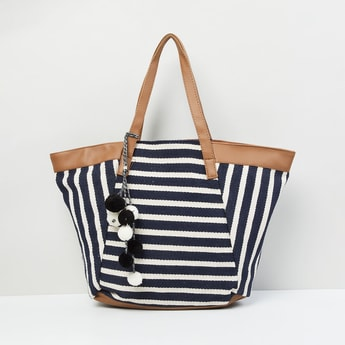 MAX Striped Shoulder Bag
