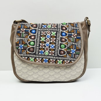 MAX Mirror Embellished Handbag