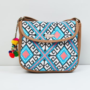 MAX Embroidered Hand Bag