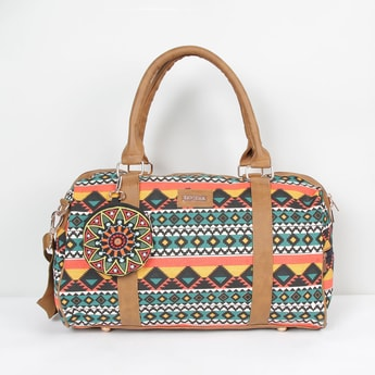 MAX Printed Shoulder Bag With Pouch