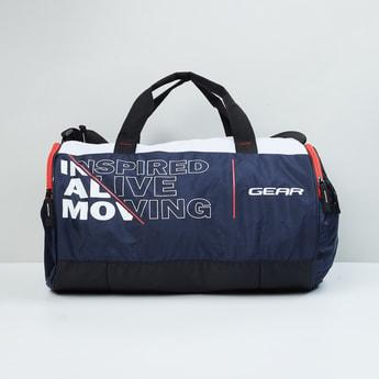 MAX Printed Gym Duffel Bag