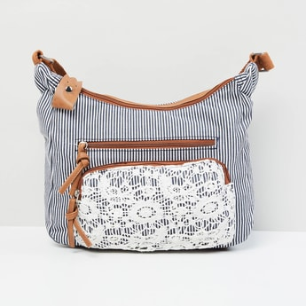 MAX Striped Sling Bag