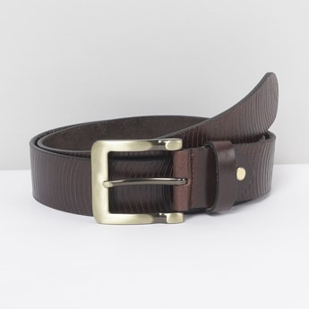 MAX Textured Leather Casual Belt