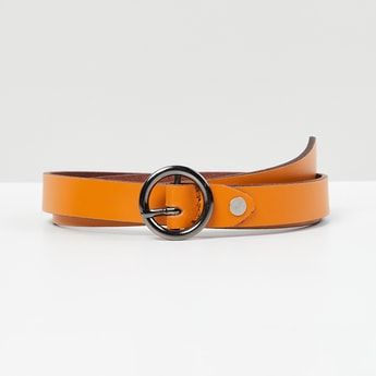 MAX Solid Leather Belt