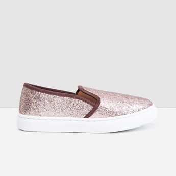 MAX Shimmery Casual Slip-On Shoes