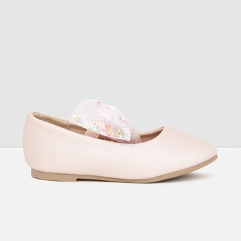 MAX Embellished Bow Detailed Mary Janes