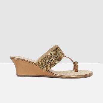 MAX Embellished Wedge Heels