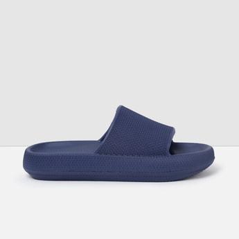 MAX Textured Open-Toe Sliders