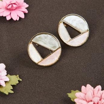 MAX Round Studded Earrings