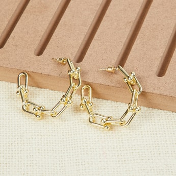 MAX Semi-Hoop Earrings