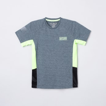 MAX Colurblocked Crew Neck T-shirt