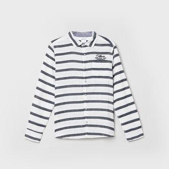 MAX Striped Full Sleeves Shirt