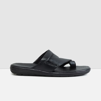 MAX Solid Leather Sandals
