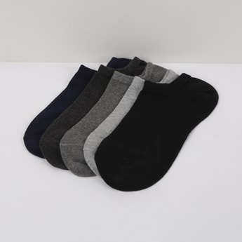 MAX Solid Socks- Pack of 5