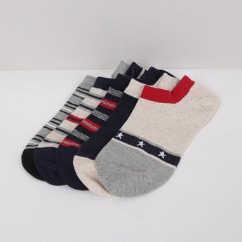 MAX Striped Socks- Pack of 5