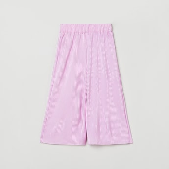 MAX Pleated Woven Flared Pants
