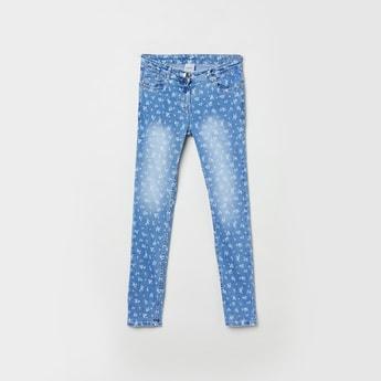 MAX Printed Denim Jeans