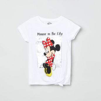 MAX Sequins Embellished Round Neck T-shirt