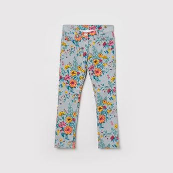 MAX Floral Print Trousers
