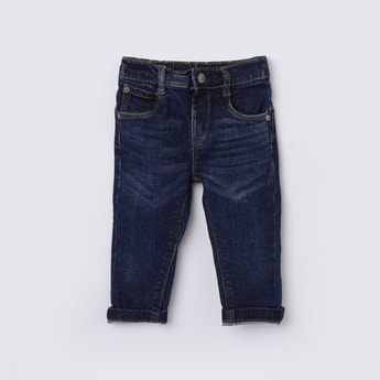 MAX Solid Slim Fit Denim Jeans