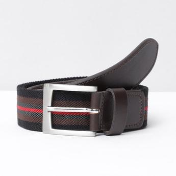 MAX Striped Casual Belt