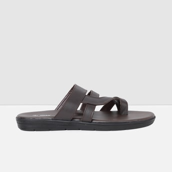 MAX Solid Ring-Toe Sandals