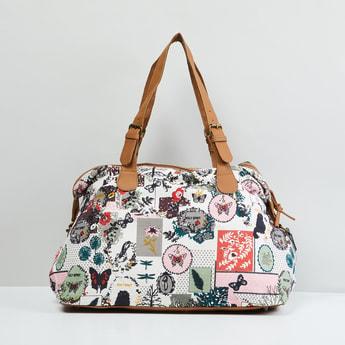 MAX Floral Print Duffle Bag