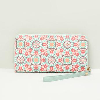 MAX Printed Zip-Around Wallet