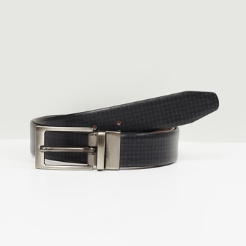 MAX Textured Reversible Formal Leather Belt