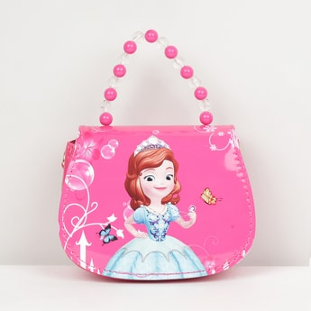 MAX Sophia The First Princess Print Handbag