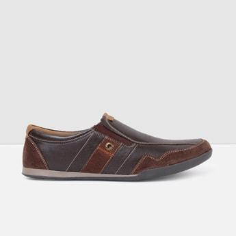 MAX Colourblocked Slip-On Casual Shoes