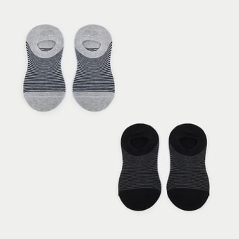 MAX Striped Footlet- Set of 2