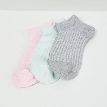 MAX Ribbed Socks- Set of 3