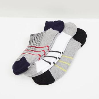 MAX Printed Ankle-Length Socks-Set of 3