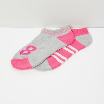 MAX Woven Design Socks- Set of 2
