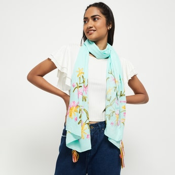 MAX Embroidered Scarf