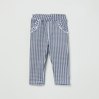 MAX Checked Trousers