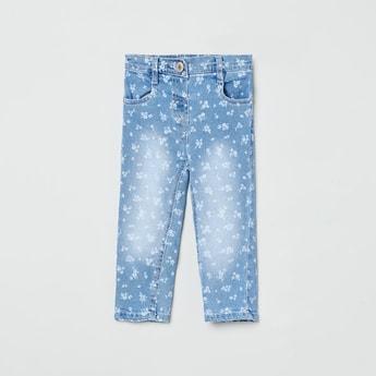 MAX Printed Slim Jeans