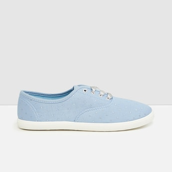 MAX Embellished Canvas Shoes