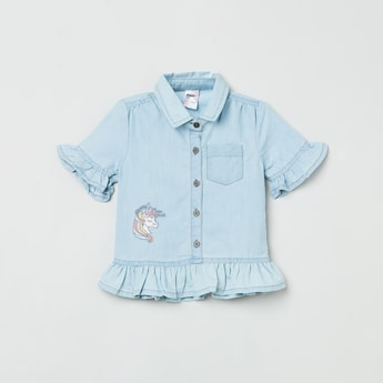 MAX Embroidered Top
