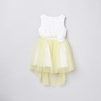 MAX Embellished Tulle Dress