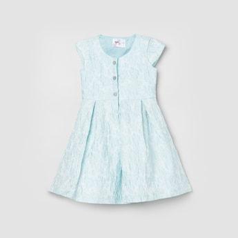 MAX Textured A-Line Dress