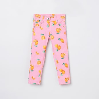 MAX Printed Casual Trousers