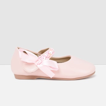 MAX Embellished Mid-Strap Mary Janes