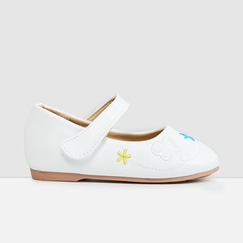 MAX Embroidered Mary Janes