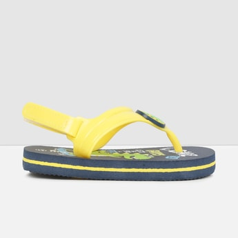 MAX Dinosaur Printed Sling Back Slippers
