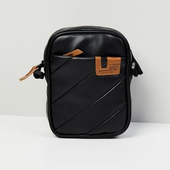 MAX Textured Messenger Bag