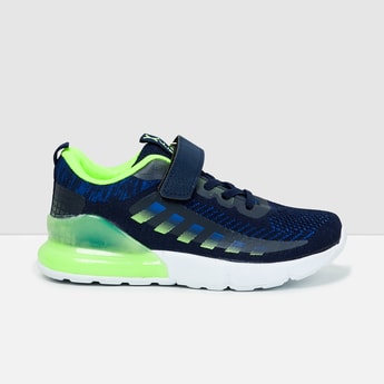 MAX Colourblocked Velcro Strap Sports Shoes