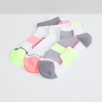 MAX Printed Ankle-Length Socks - Set of 3